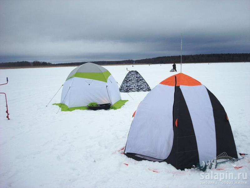 рыбалка с палаткой истринское водохранилище
