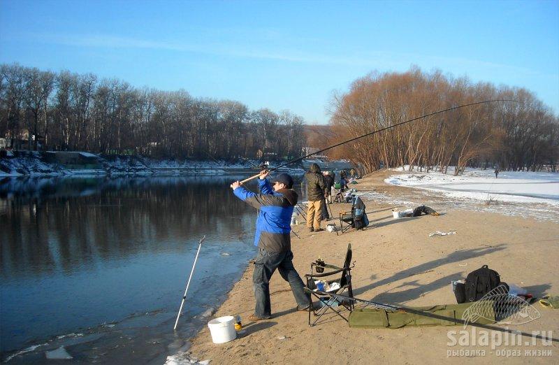 рыбалка в городе барнаул