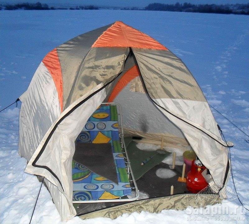 Как сделать палатку на рыбалку 33