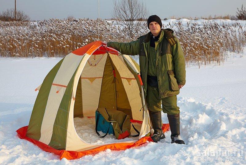 Рыбалка зимой палатка своими руками