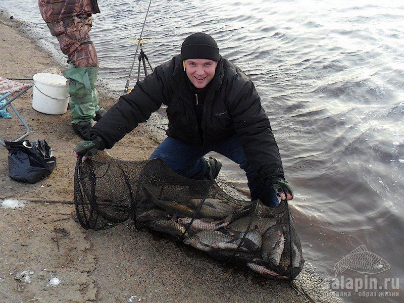 рыбалка на каналах труд