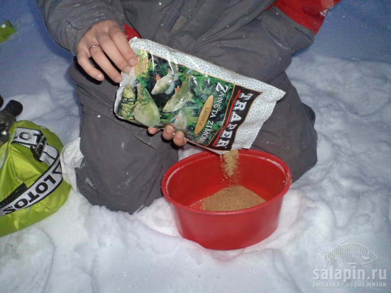 Зимние прикормки для рыбалки своими руками