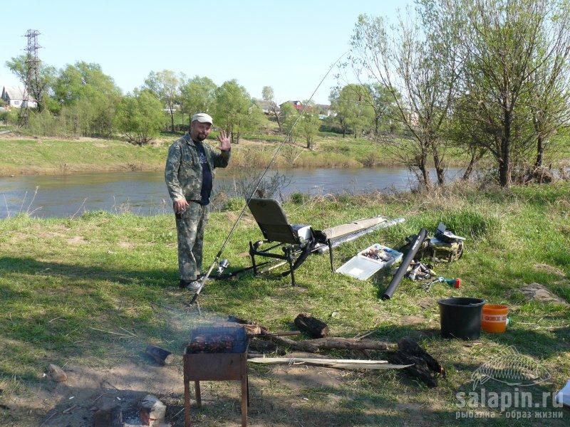 угра рыбалка 2016 май