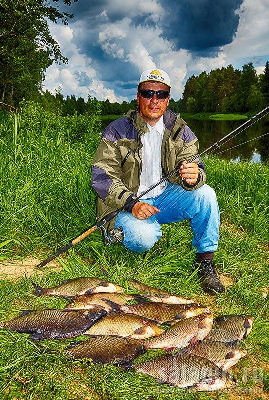 наша рыбалка лещ фидер