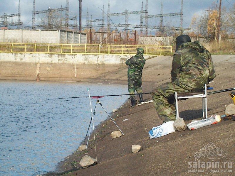 рыбалка в кадуе на теплом канале