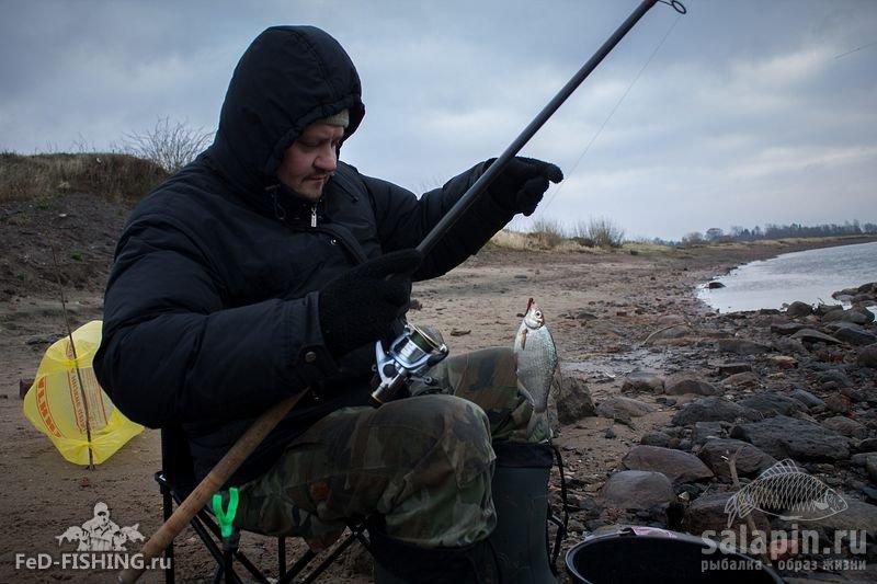 где идет рыбалка