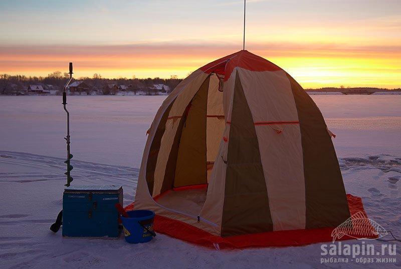 теплые домики для рыбалки