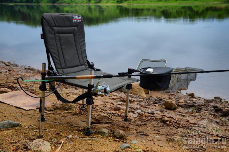 кресло для ловли с обвесом