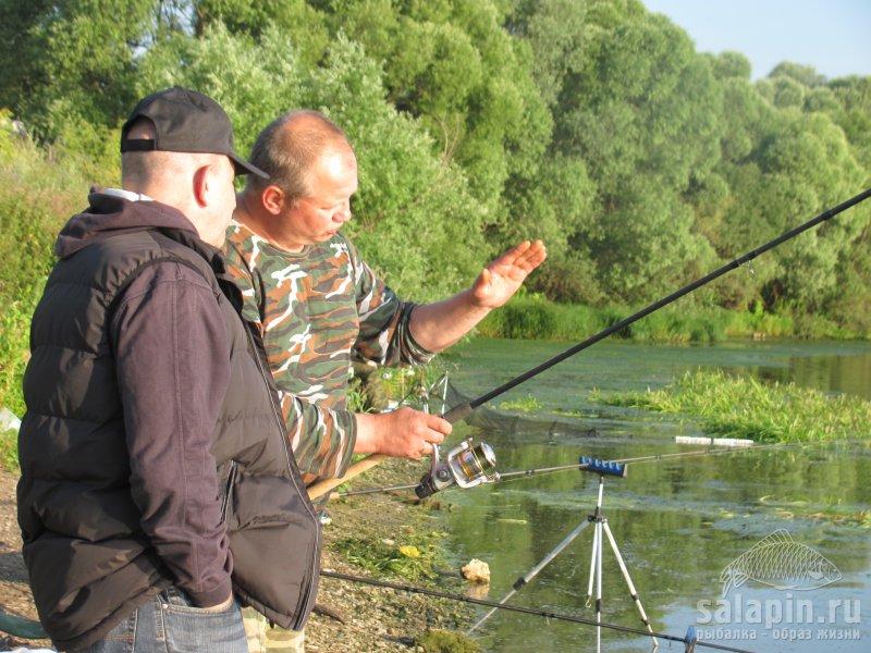 рыбалка на сабле