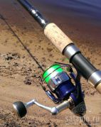 "Сладкая парочка Daiwa Tournament Long Distance 14"" и Daiwa Certate 3500 HD Custom"