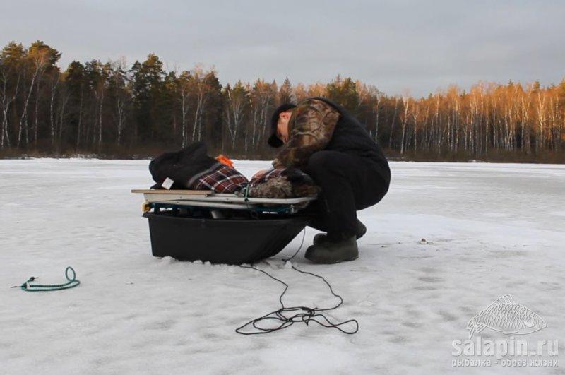 сани рыбака фото