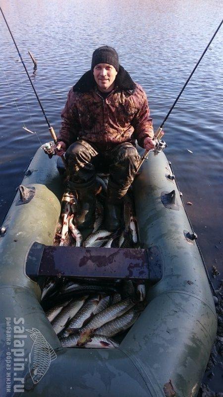 ловля в заморном водоеме