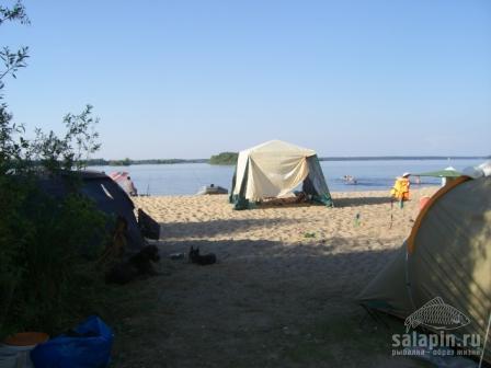 рыбалка в конаково с палатками