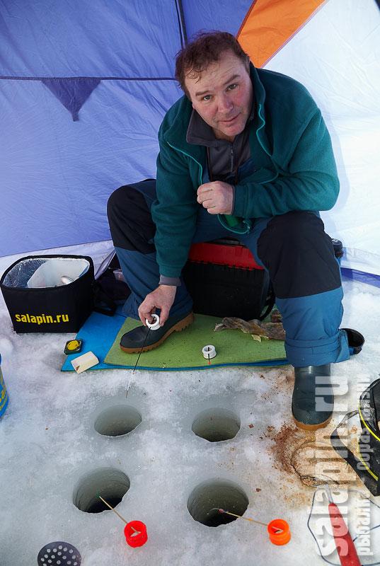 сделай сам палатку на рыбалку