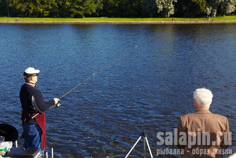 определение дна на рыбалке